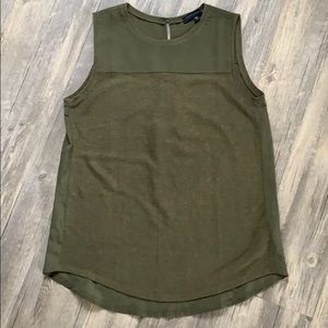 Anthropologie Mixed Media Tank by Sanctuary